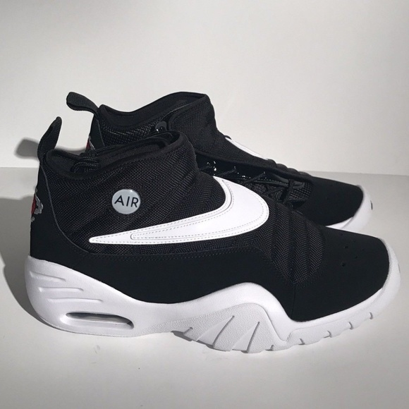 695ec8550a15c Nike Air Shake Ndestrukt black white Dennis rodman